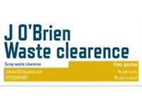 J'OBRIEN WASTE CLEARENCE SCRAP &WASTE CLEARENCE