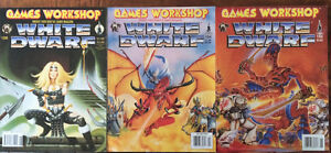 Collection of 9 White Dwarf Magazines