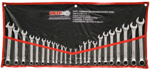 24 pc. combination wrench set