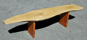 Coffee Table, Solid slab of maple