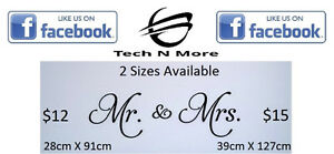 Big Mr. & Mrs. Wall Stickers