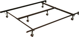 For Sale - Steel Metal Roller Bed Frame In Excellent Condition