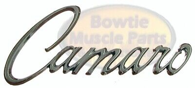 68 69 CAMARO SCRIPT FENDER EMBLEM - GM LICENSED!! EXCELLENT QUALITY - BEST FIT!