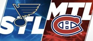Habs vs St. Louis