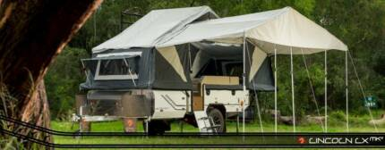 6 berth Off Road Hard Floor Dual Fold Camper Trailer -PMX Campers Wangara Wanneroo Area Preview