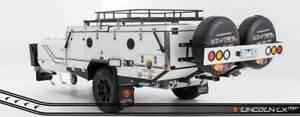 6 berth Off Road Hard Floor Dual Fold Camper Trailer -PMX Campers