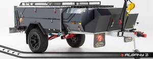 Off Road Hard Floor Rear Open Camper Trailer. PMX Albany Z - MK2