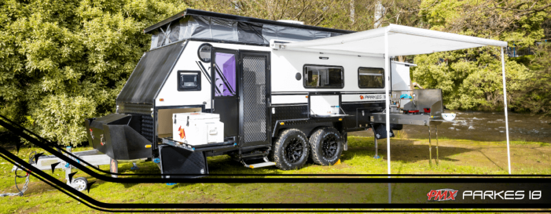 Parkes 18 - Off Road 5 berth Hybrid Caravan by PMX WA