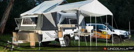 The ultimate 6 berth off road Camper Trailer at Geraldton