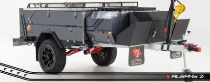 Albany Z rear fold camper
