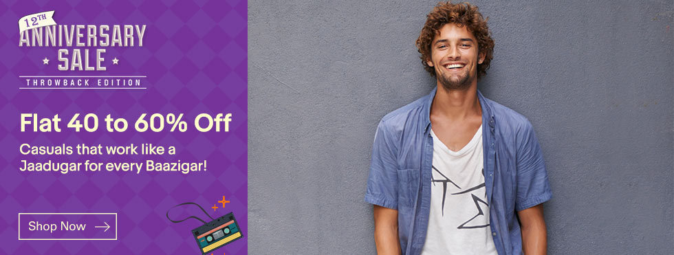 Get 60% OFF on Men's Fashion