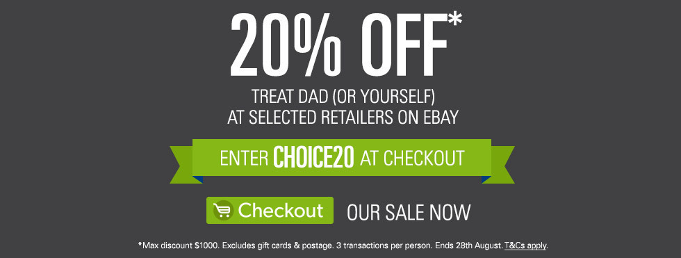 Click here to visit 20% off Father's Day