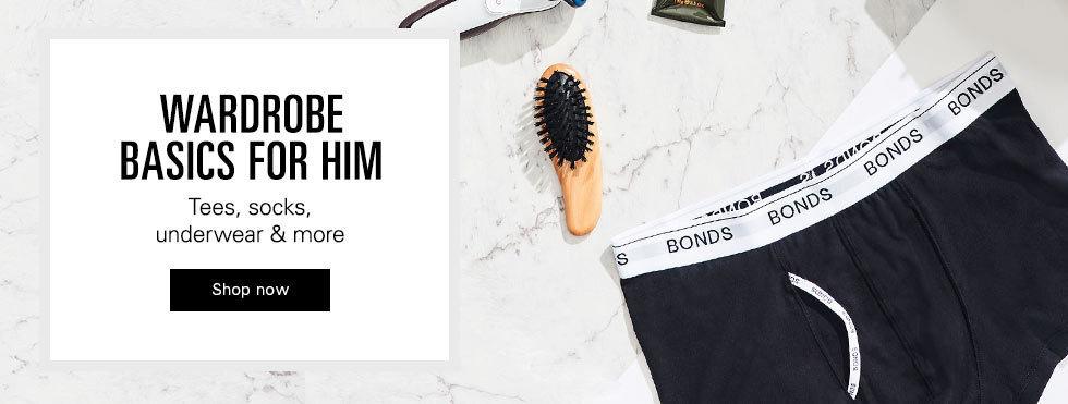Click here to visit Men's essentials