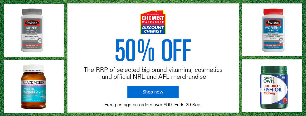 Click here to visit Chemist Warehouse