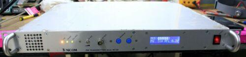 NICOM NT30 30W + FM  BROADCAST TRANSMITTER 88-108MHz CERTIFIED!