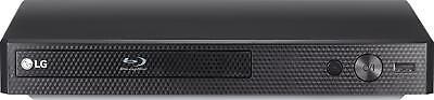 LG - Streaming Audio Blu-ray Player - Black