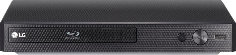 LG - Streaming Audio Blu-ray Player - Black