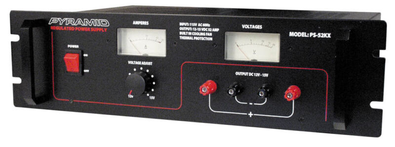 PYRAMID PS52KX POWER SUPPLY 46 AMP CONSTANT