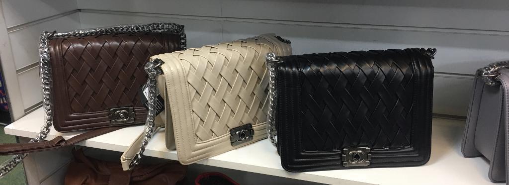 Chanel large le boy flap bag