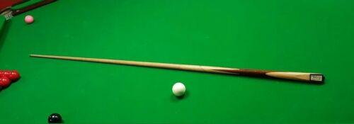 Rare Collectable Rex Williams 1 Piece Snooker Cue