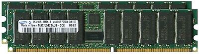4 Gb Pc3200 Kit (Tested Samsung 8GB (2x4GB) Sun Ultra 40 PC3200 Memory Kit X7267A,)