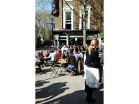 Bar staff wanted, £7.50 hr, Full and Part Time, Central London