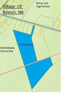 Subdivision property within village of Rexton