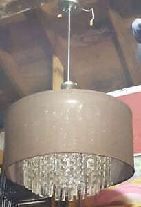 Chandelier - Beautiful modern brown