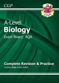 NEW AQA A A Level Biology Textbook - Excellent Condition £12.50 ONO