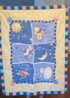 NUSERY RHYME WALL HANGING, QUILTED