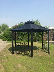 Hampton Hurstborne 12x13.7 ft Hard Top Gazebo Model # 1000850219
