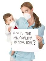 Indoor air quality testing.