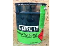 Roofing resin and top coat
