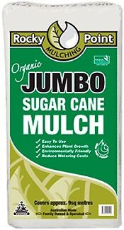Sugar cane mulch covers 10sqm, Jumbo bag