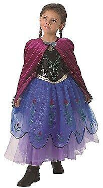 Prinzessin Anna Frozen Kostüm Eiskönigin Kostüm  Kinderkostüm Anna und Elsa