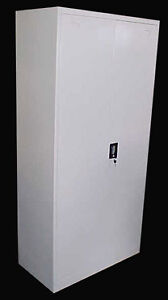 Steel Cupboard Metal Stationery Cabinet BRAND NEW 1850mmH*900mmW*450mmD