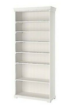 new concept 99b76 fa182 White LIATORP bookcase / shelving unit with drawers / tall bookshelf large  shelves | in Eltham, London | Gumtree