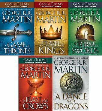 (Song of Ice and Fire Series)1-5 Books Game of Thrones 📕NOT PAPERBACK📕 E- Book