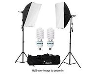 Photography - soft boxes, backdrops + clips
