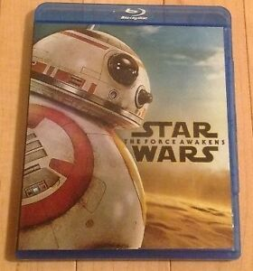 Star Wars The Force Awakens Episode VII (blu-ray)