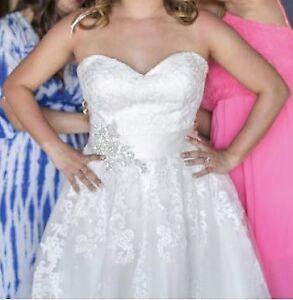 Wedding dress. Bridal
