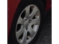 307 Peugeot alloy wheel