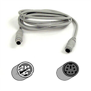 2400 - ps/2 extension cable 6ft