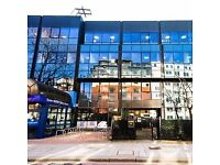 A modern, newly refurbished centre with natural light and air conditioning from £300 per month