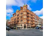 Grade Il listed building with original features located centrally behind Oxford Street from £450pppm