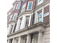 This luxurious 5* building in Grosvenor Street comprises of 4 floors of office space