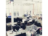 Newly furnished, unbranded, co-working office space in Soho