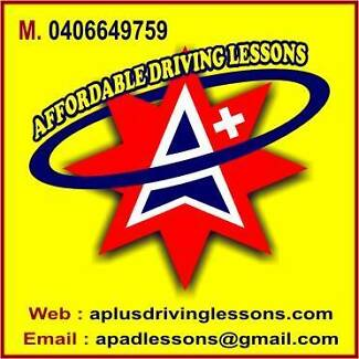 A+ Affordable Driving Lessons Brisbane City Brisbane North West Preview