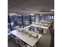 Purpose built first floor office, fully furnished to an excellent standard in Fulham from £500pppm
