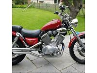 Two motorcyce swap